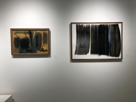 汉斯·哈同创作于上世纪70年代初的作品