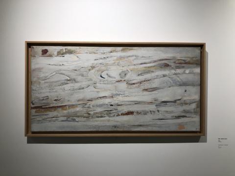阿帕.森内斯《听见》 50×100m 布面油画 1960