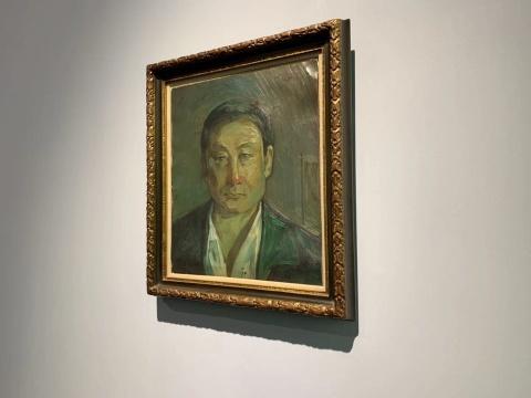 刘锋植《肖像》51×44cm 布面油画 1990s