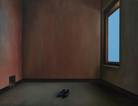 《独白》170×130cm 布面油画 2019