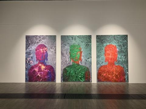 《过去·现在·未来》 288×564cm 布面油画 2019