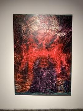 《関公》 194x140cm 布面油画 2018