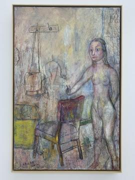 任小林 《一室》 100×75cm 布面油画 2014