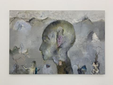 任小林 《心生佛》 190×280cm 布面油画 2006