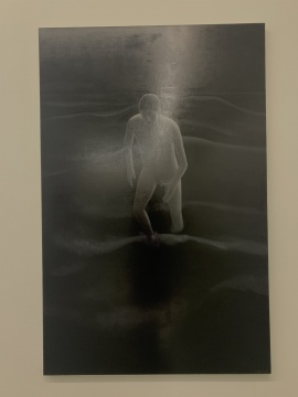 谭永勍 《Dark》 200×130cm 布面油画 2018