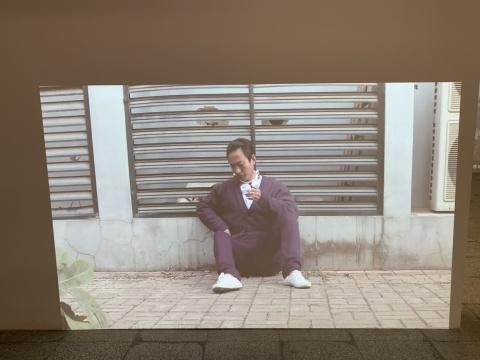 李燎 《春风》 行为、录像 2011