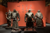 """600岁太庙首个当代艺术展 任哲大型雕塑展荡""""炁""""回肠"""