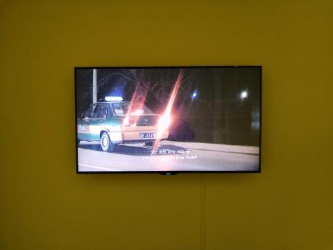 金闪 《去纽约》 单频影像 6'37 2008