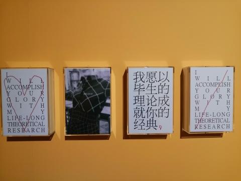 王将 《修辞与情笺》21.2×14.5cm×9 文本 2019