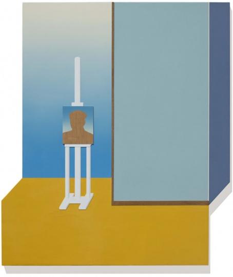黄一山 在画布上进行一场室内装修