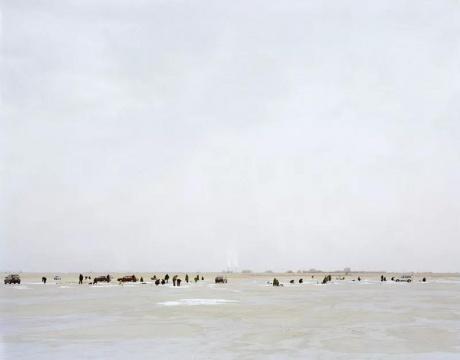 《冬钓的人,内蒙古》2010