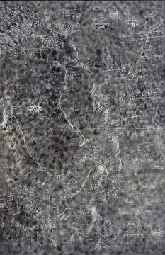 邱志杰 《大运河地图》 2013