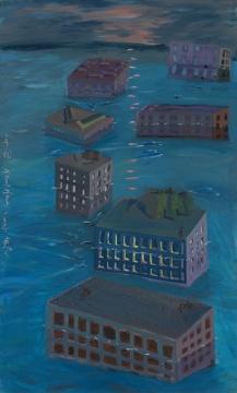《新格局》130×210cm 布面油画 2011