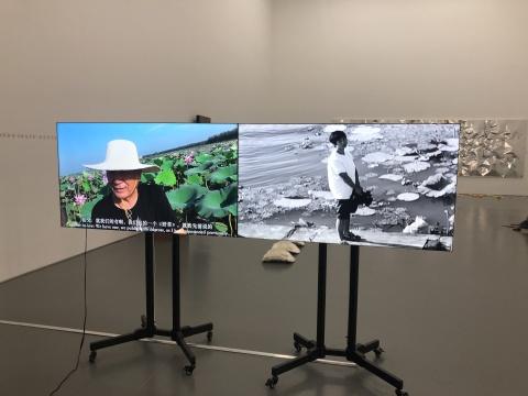 《艺术是真空 3》 2018,行为及录像文献,双频录像,彩色,有声 57'58