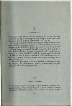 刘野《Book Painting No.12, (Lolita,London.Weidenfeld&Nicolson,1995,Page.11)》 20×30cm 布面丙烯 2016 图片由艺术家提供 来自王兵先生收藏