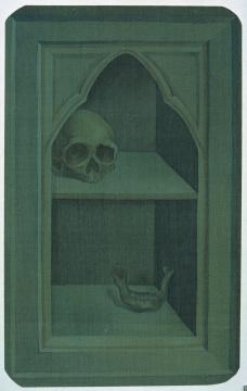 郝量 《移用解剖学-19》14×17.5cm 绢本重彩 2010图片由艺术家提供 来自王兵先生收藏