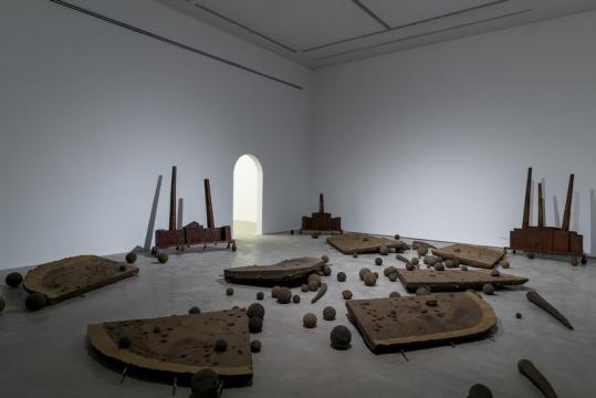 """陆垒个展""""荒唐小说"""",香格纳画廊展览现场"""