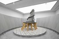 香格纳画廊陆垒个展,一篇关于巨人漫步的荒唐小说,陆垒