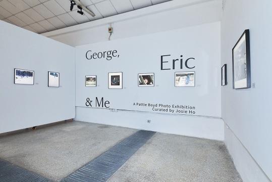 """""""George&Eric& Me""""展览现场"""