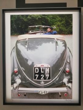 《Eric in his Lancia》 1976