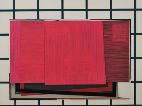 恩里科·巴赫《ZSNR》200 x 300 cm 布面油画 2017
