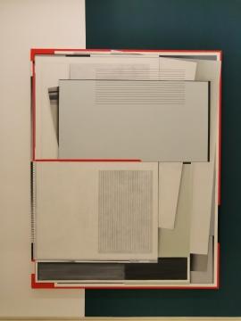 恩里科·巴赫《PSR》240 x 190 cm 布面油画 2017