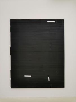 恩里科·巴赫《UBS》240 x 190 cm 布面油画 2018
