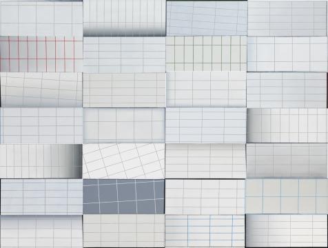 恩里科·巴赫《RSW》280 x 370 cm 布面油画 2018