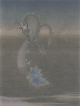 《无人之境.江山》155×205cm绢本设色2019