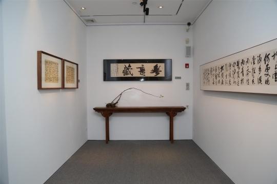 古典与时代精髓相结合,曹军壁书展亮相时间博物馆