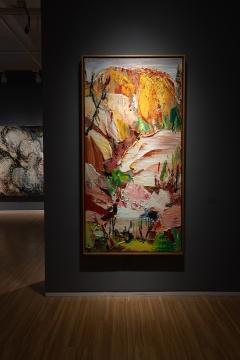 《秋山》200x100cm 布面油画 2019