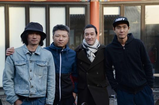 左起:黄锦、张蔚、秦思源、邓博宇