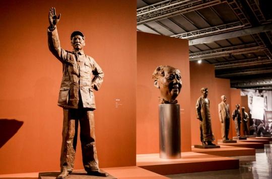 以形写神,风云塑——李象群雕塑艺术展在嘉德艺术中心开幕