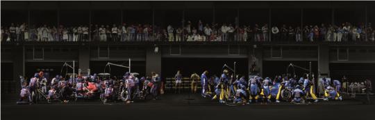 世界第二贵摄影师安德烈‧古斯基作品亮相路易威登北京Espace文化艺术空间