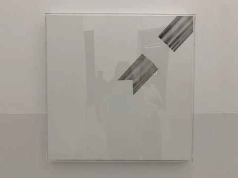 《打开的图像2》 80×80cm 绘画 2019