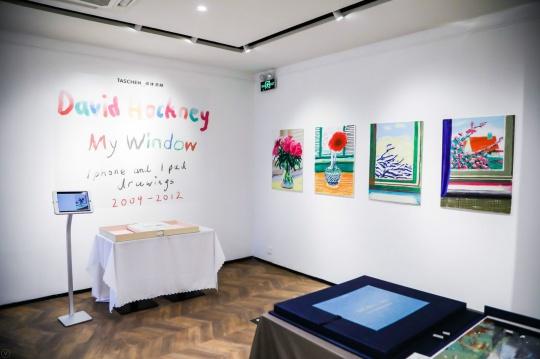 《大卫·霍克尼:我的窗》及随书附赠版画