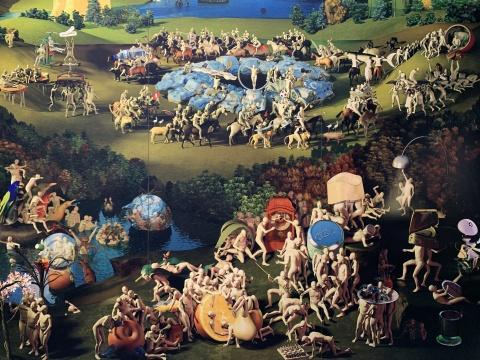缪晓春 《坐天观井——九连屏》 艺术微喷 尺寸可变 2008
