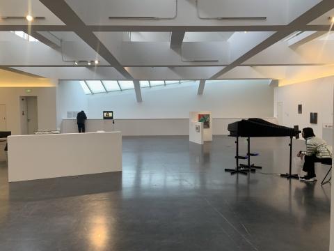 展览三层空间