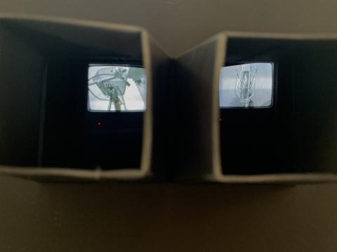 陈劭雄 《视力矫正器3》 双频录像装置 1996