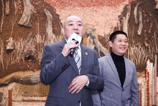 展览策划人之一、北京匡时国际拍卖有限公司董事长董国强