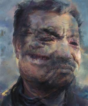陈卉《一个叫作永恒的男人》之二 120×100cm布面油画2017