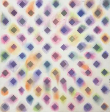 章燕紫《荷尔蒙之二》122×124cm 纸上水墨设色 2019