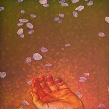 《花散里》 作品分类/Categories:版画/Aquatint艺术家/Artist:宫山广明/Hiroaki Miyayama 版数/Edition:3/150 尺寸/Size:47×48cm 年代/Year:1997-2006