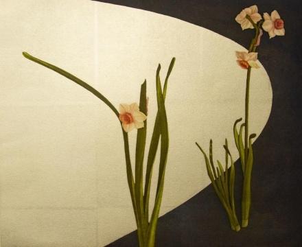 《帚木》作品分类/Categories:版画/Aquatint 艺术家/Artist:宫山广明/Hiroaki Miyayama 版数/Edition:12/150 尺寸/Size:61×55cm 年代/Year:1997-2006