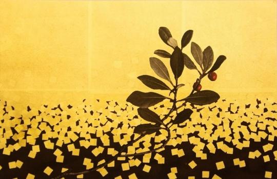 《松風》 作品分类/Categories:版画/Aquatint 艺术家/Artist:宫山广明/Hiroaki Miyayama 版数/Edition:A.P. 尺寸/Size:59×48cm 年代/Year:1997-2006