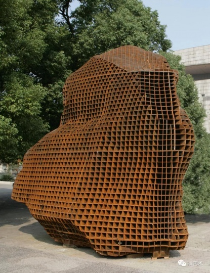 《长沙的沙》高500cm 考顿钢 2009