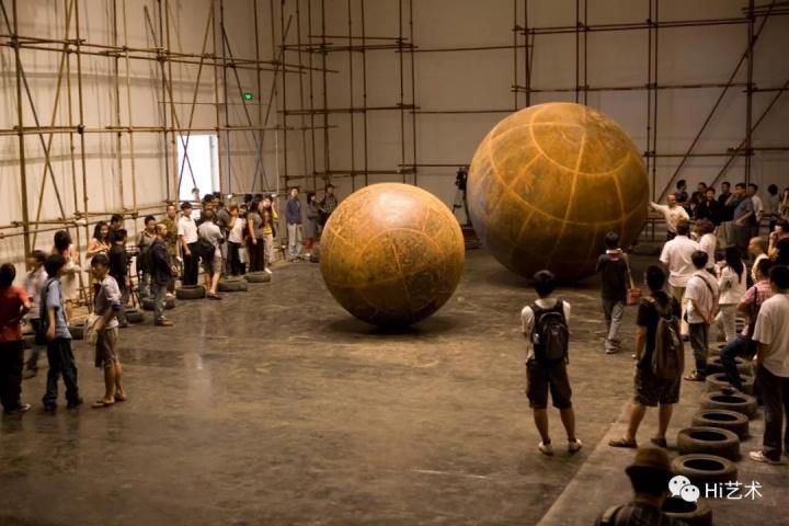 《运动与张力》 综合装置 2009 艺术家自藏