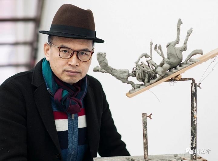 雕塑家 陈文令 摄影:董林
