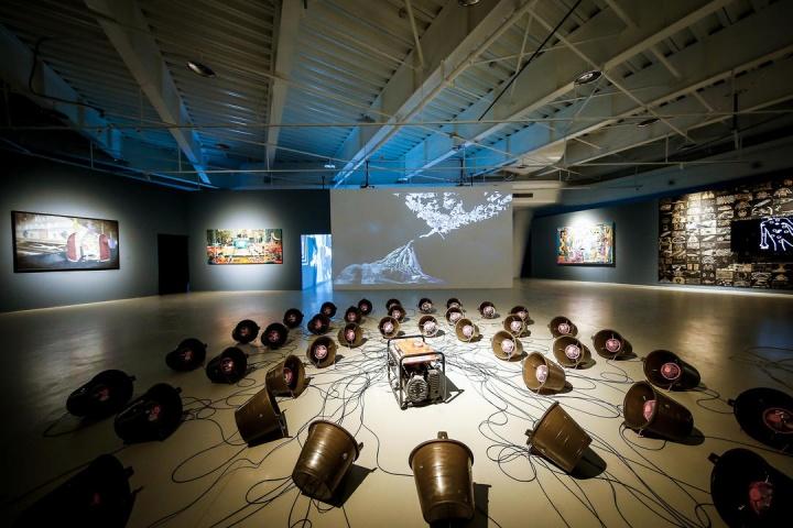 2019年第二届iArt青年艺术计划展览现场