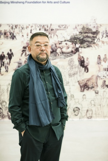 艺术家贺丹(摄影:董林)